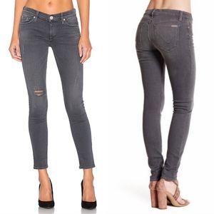 Hudson Jeans Ankle Krista Super Skinny Gray